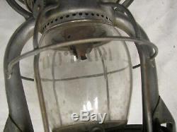 Vintage Vesta Dietz RR Lantern Rdg Trans Dept Reading Railroad Eatched Globe