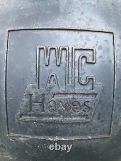 Vintage WC Hayes Red Lens Train Railroad Crossing Traffic Signal Light 20
