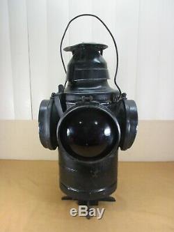 Vintage Wabash Railway Railroad 4-way Signals Switch Stand Railroad Lantern