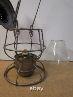 VintageAdlake Reliable Baltimore & Ohio (B&O) Railroad Train Kerosene Lantern