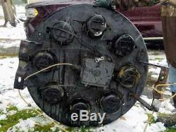 Vtg Antique B&o Baltimore Ohio Railroad Grs Quadrant Semaphore Cpl Signal Light