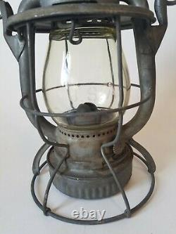 Vtg Dietz Vesta NYNH&H New York New Haven & Hartford Railroad RR Lantern
