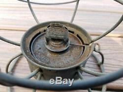 WM Ry Railroad Lantern Western Maryland Railway RR Lamp Adlake Antique Etched