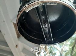 Western Pacific Railroad kerosene lantern antique with bracket
