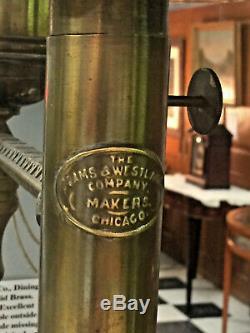 Westlake Co. Railroad Car Dining Oil Lamp